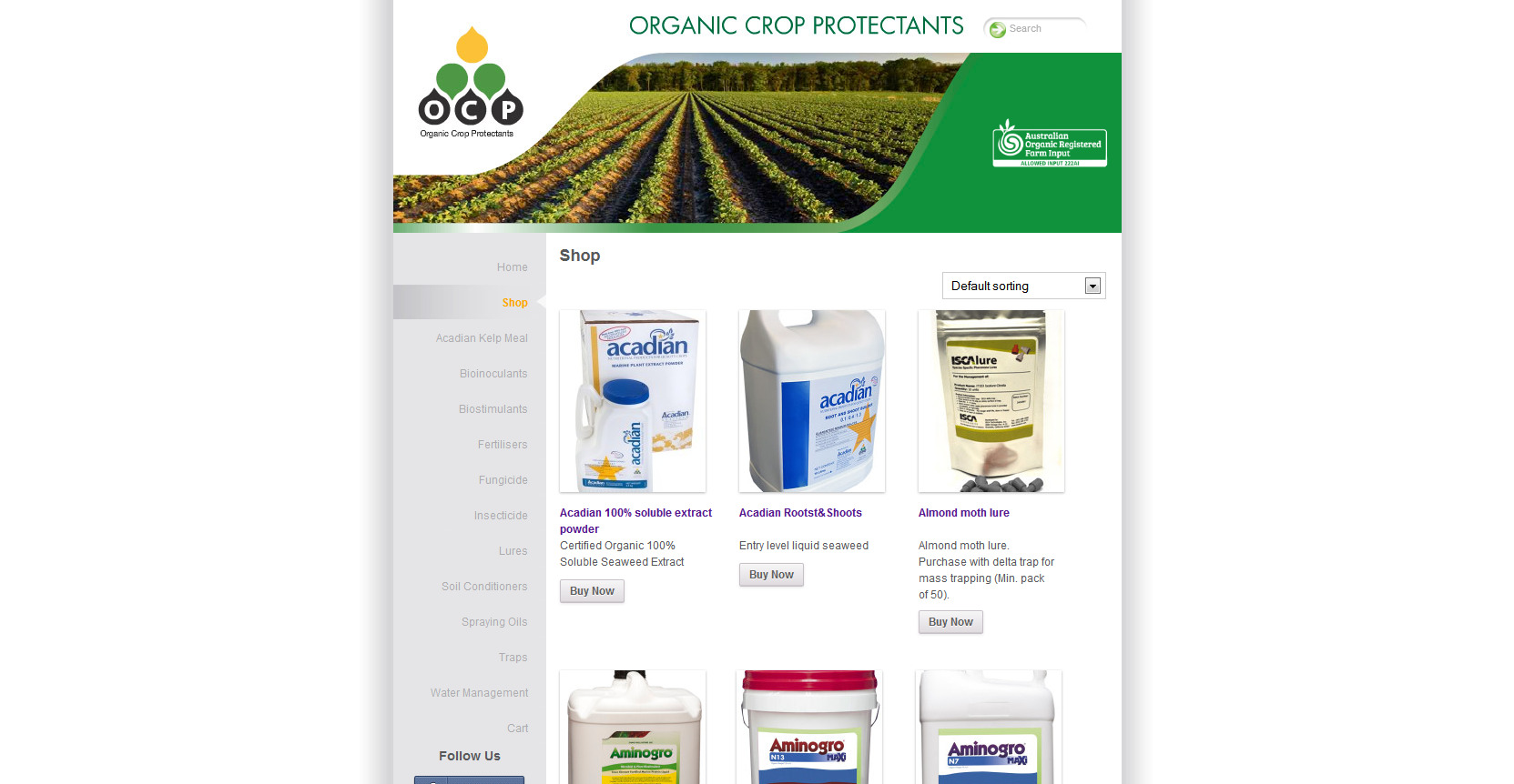 ocp home page